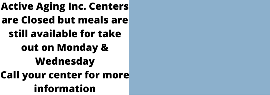 Centers Remain Closed